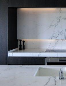 Cuisine marbre contemporaine